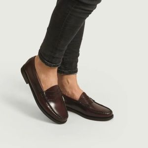 Weejuns by G.H. Bass & Co Loafer Shoes Wine 7